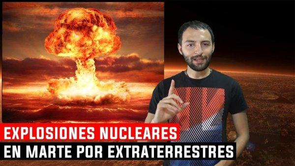 Científico Afirma que Marte fue Destruido por Explosiones Nucleares de Dos razas extraterrestres