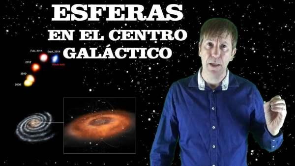 DESCUBREN INCREÍBLES ESFERAS MOVIÉNDOSE EN EL CENTRO GALÁCTICO
