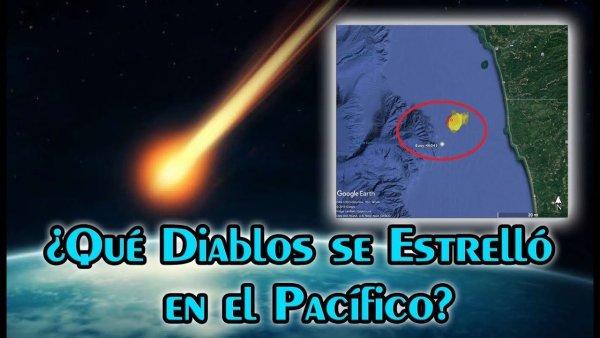 ¿Qué es Realmente el Enorme Objeto que Cayó al Océano y la NASA Fue a Buscar?