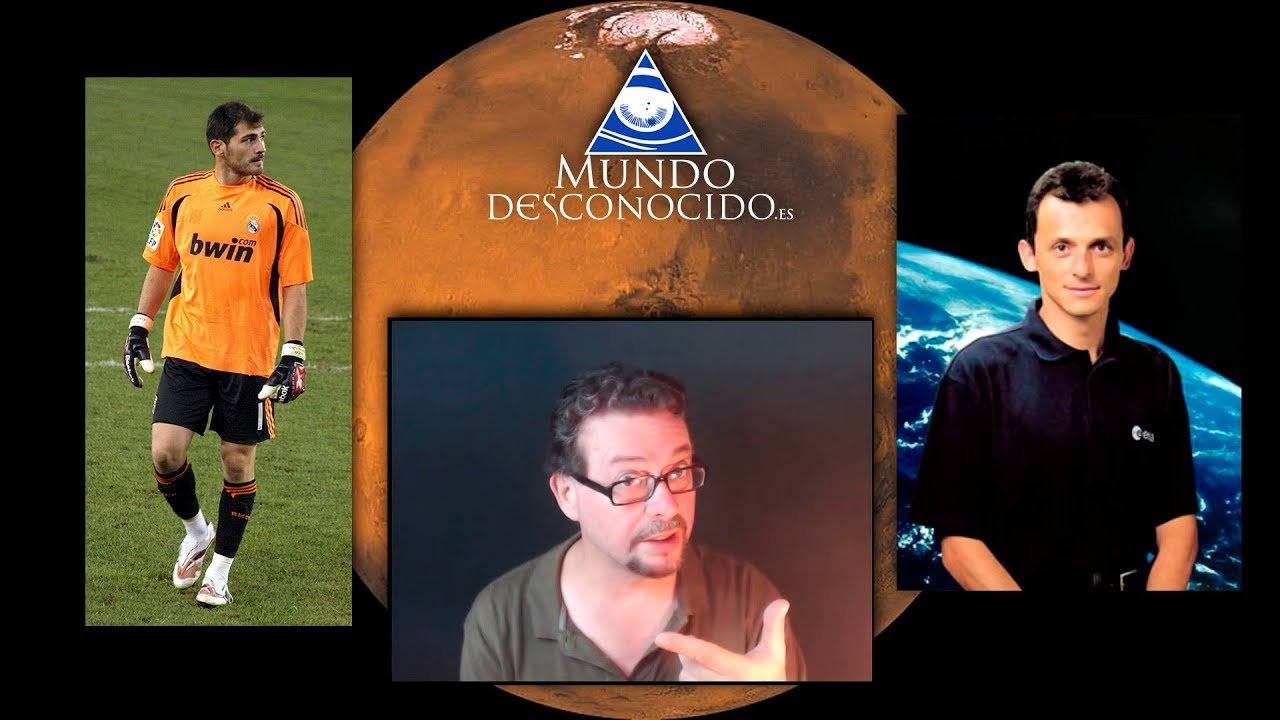 Agua, Marte, Pedro Duque e Iker Casillas (Mezclado… no agitado)