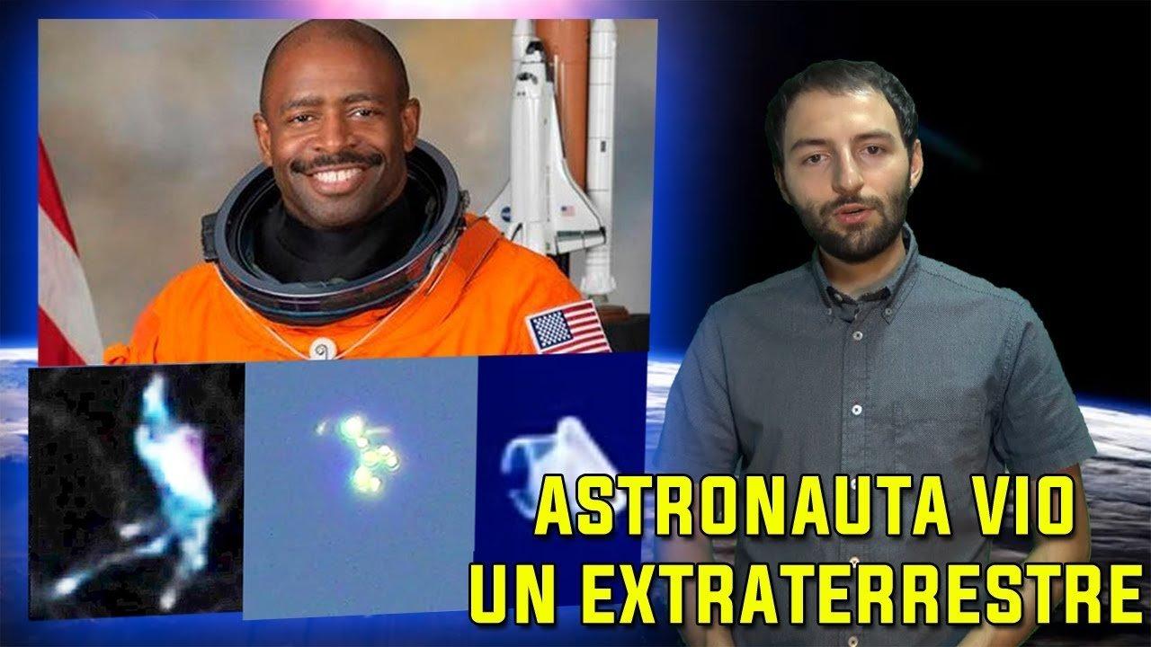 Astronauta de NASA vio un Extraterrestre orgánico flotando en el espacio