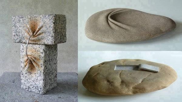 El Último Maestro de la Piedra, Hombre Crea Esculturas de Piedra Maleable Con el Poder de la Mente