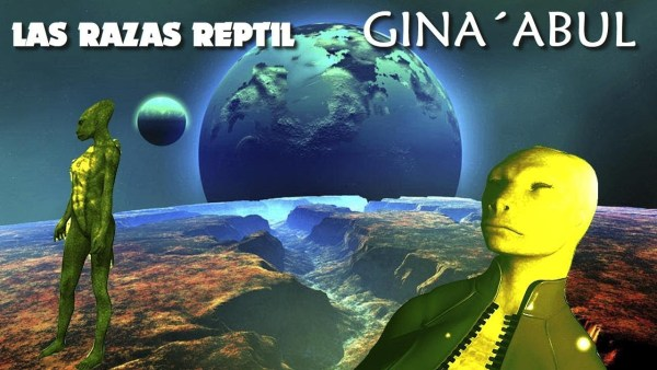 LAS INCREIBLES RAZAS REPTIL GINA´ABUL DE ANTON PARKS