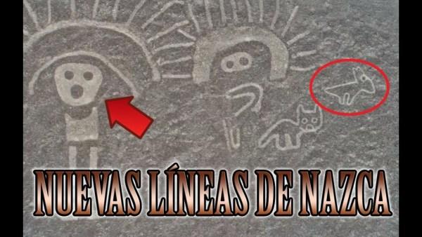 Descubren Decenas de Misteriosos Dibujos Gigantes en Nazca Nunca Vistos