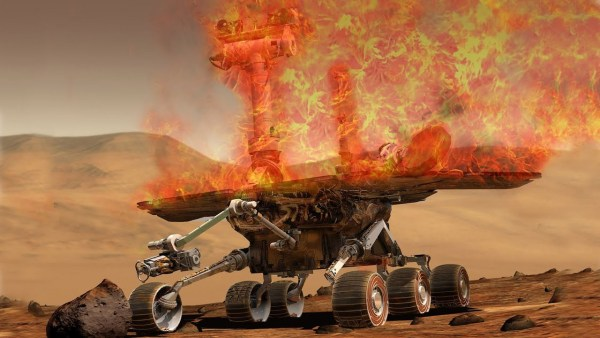 Algo Extraño les sucede a los Robots en Marte