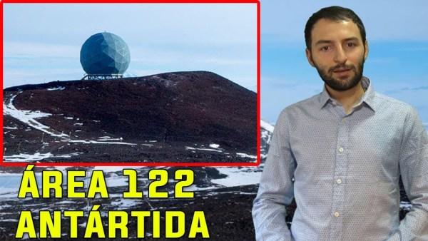 El Área 122, un lugar en la Antártida donde ocultan ALGO MUY RARO