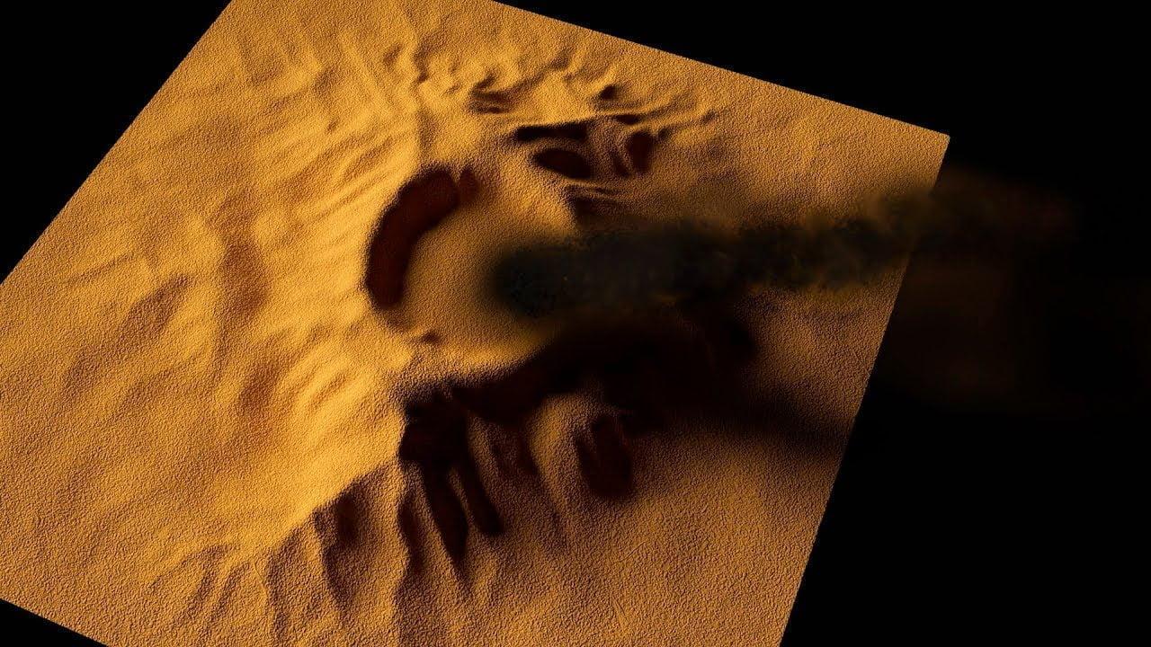 ¿Súper Volcán Marciano entra en Erupción?