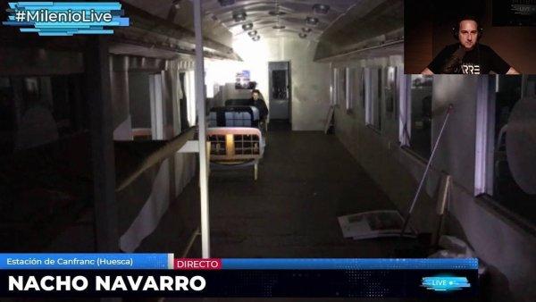 Segundo aislamiento de Nacho Navarro en Canfranc #MilenioLive