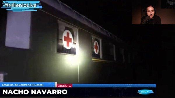 Descubrimos trenes olvidados en Canfranc: Camillas, mantas y secretos de guerra #MilenioLive