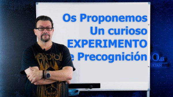 Os proponemos un Experimento de Precognición