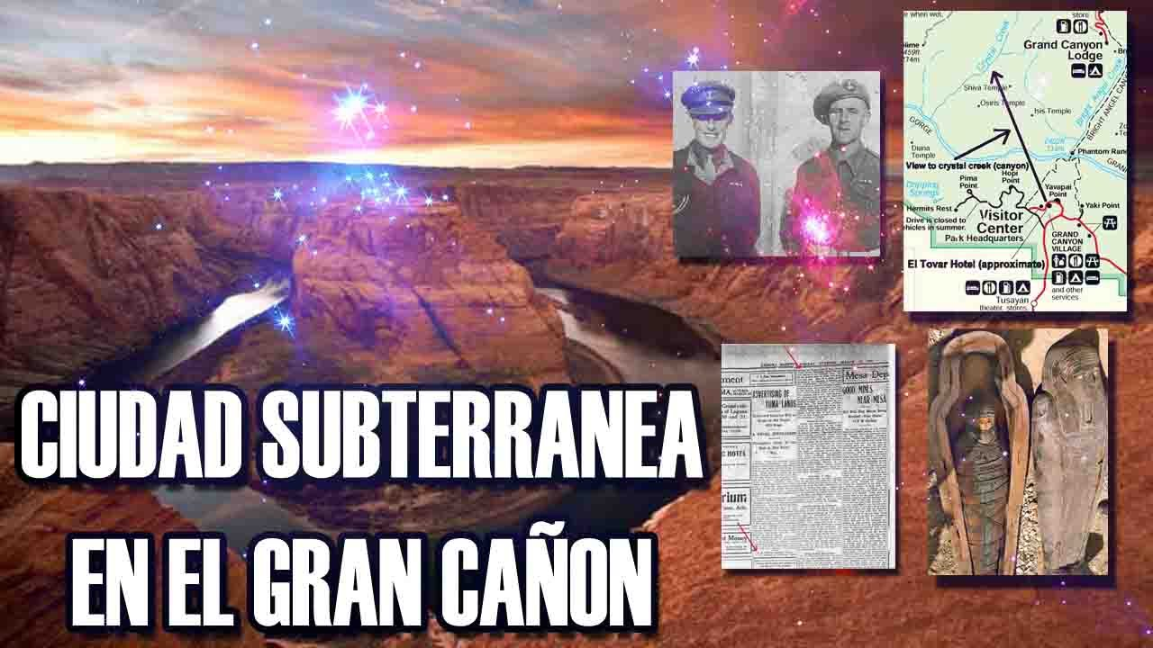 El misterio de la cueva de Kincaid – Ciudad subterranea en cañon del colorado   VM Granmisterio