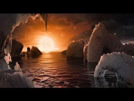 La NASA Revela que Existe un Sistema Solar con 7 Planetas Como la Tierra