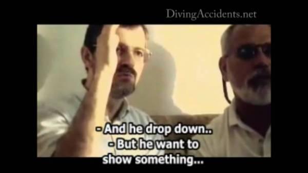 El buceador que grabó su MUERTE AL VER UNA ENTIDAD en el FONDO DEL MAR