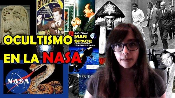 OCULTISMO Y SIMBOLOGIA EN LA NASA