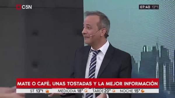 Ovni en noticiero Argentina 2019