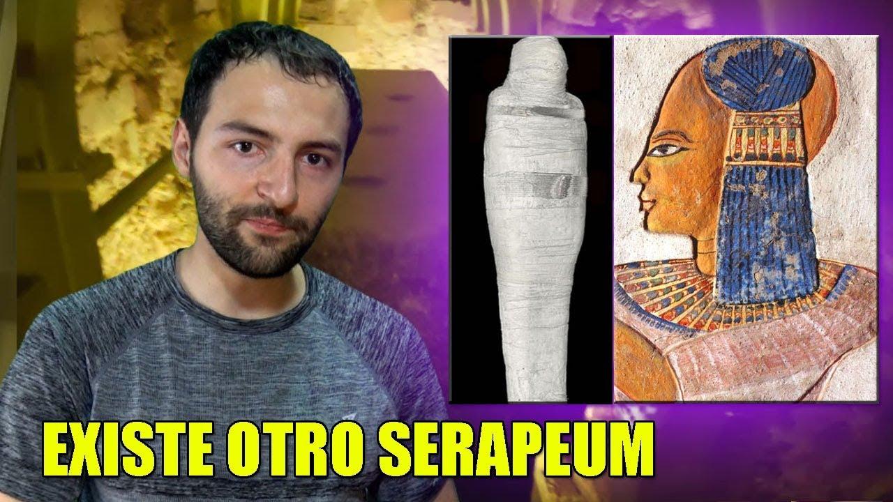 Encuentran ALGO muy extraño en el Serapeum – Las momias de GELATINA