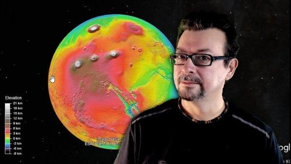 El Enigma de los Cráteres Marcianos