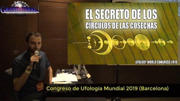 Anomalías inexplicables en los círculos de las cosechas. Conferencia ufology world congress 2019