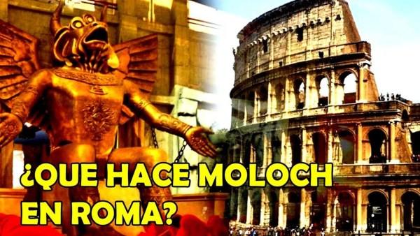 ¿QUÉ HACE MOLOCH EN ROMA?