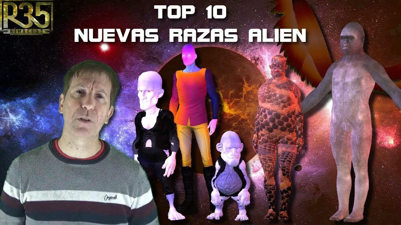 TOP 10: NUEVAS RAZAS ALIENÍGENAS
