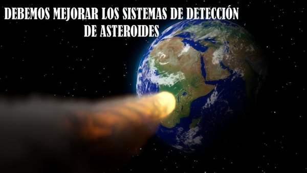 Un Asteroide Pasó Rozando los Satélites y Nadie lo vio Venir