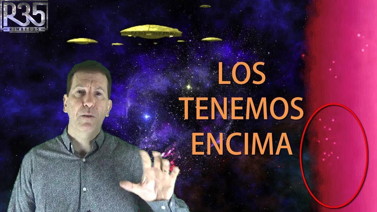 LOS TENEMOS ENCIMA: Flotillas de Naves Filmadas por la Estación Espacial