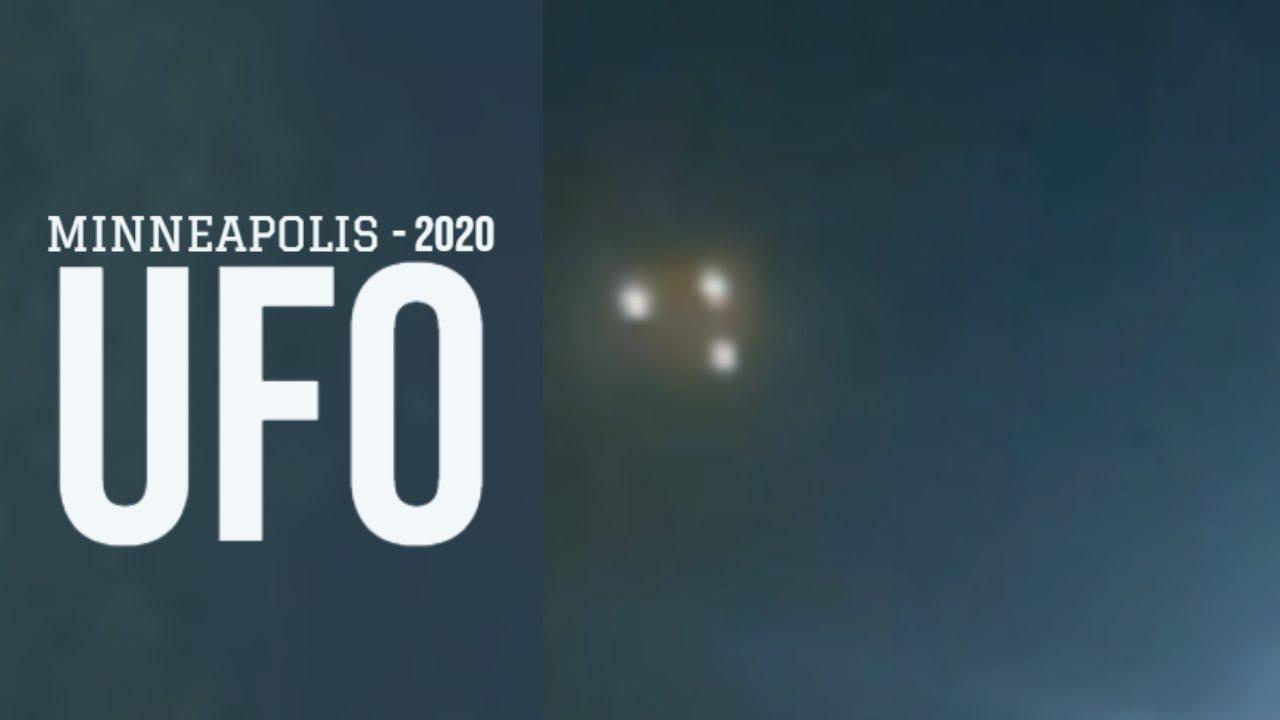 ASOMBROSO: Triángulo OVNI sobre Minneapolis, MN 27-Mar-2020