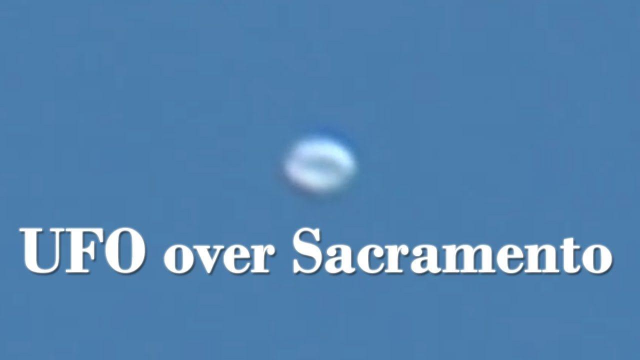 OVNI grabado sobre Sacramento, California 29-Mar-2020