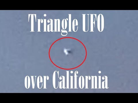 OVNI triangular flotando sobre Tustin, California 15-jun-2020