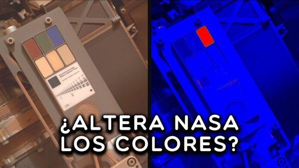 ¿Altera NASA los colores en MARTE? (NUEVAS PRUEBAS)