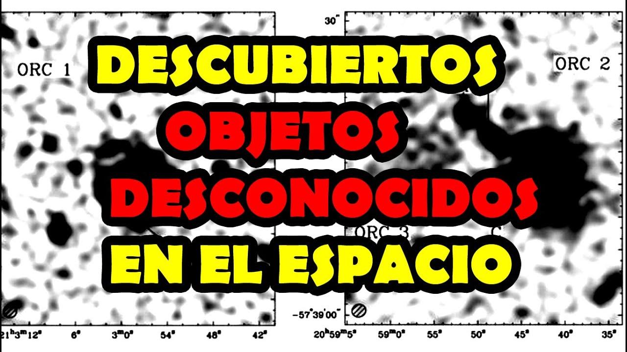 DESCUBIERTOS OBJETOS DESCONOCIDOS EN EL ESPACIO + tertulia