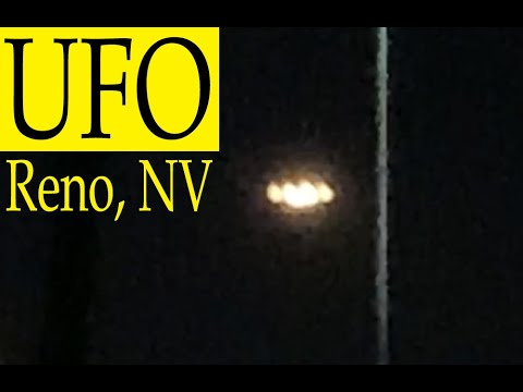 VIDEO Luces desconocidas sobre Reno, Nevada 7-jul-2020