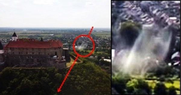 UFO-Fastwalker casi golpea un dron amateur sobre Mukachevo, Ucrania – 24 de agosto de 2020