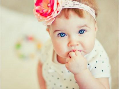 cor dos olhos do meu bebê