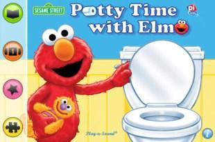 elmo potty