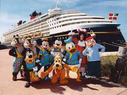 sobre os Cruzeiros Disney