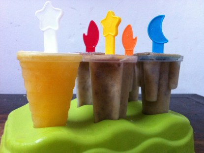 sorvete caseiro de manga