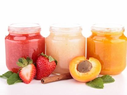 Receitas de papinha de frutas