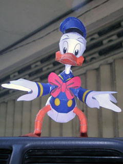 disney-donald-duck-papercraft