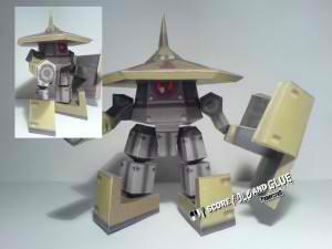 megaman gorubeshu papercraft