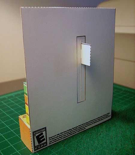 diorama tetris