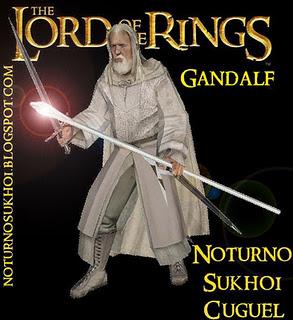 Gandalf papercraft