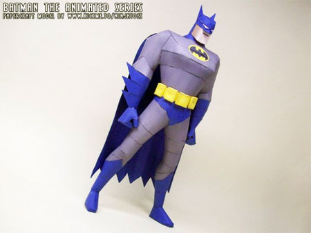 batman+the+animated+series+papercraft