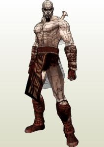 Kratos Papercraft