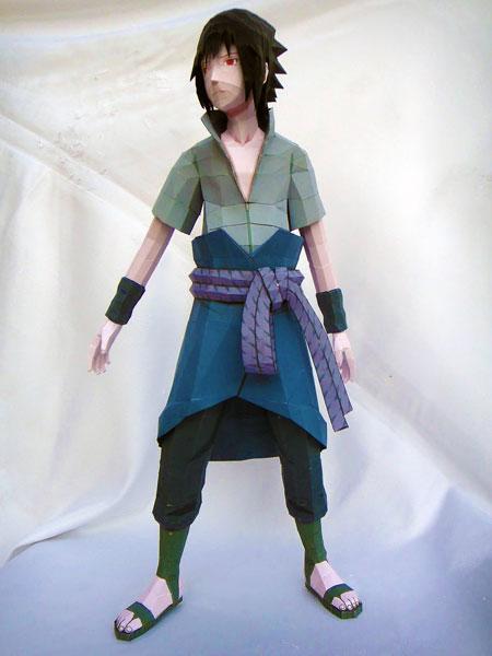 naruto+sasuke+paper+model