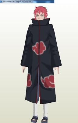 Naruto - Sasori Papercraft