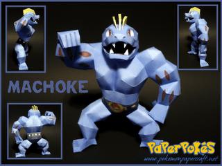 machoke papercraft