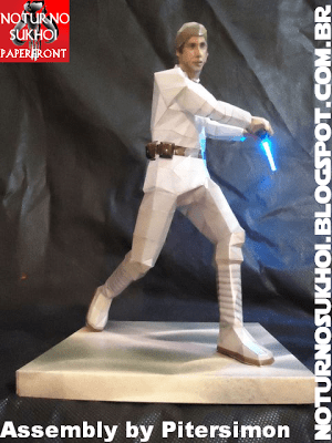 Episode IV - Luke Skywalker Papercraft