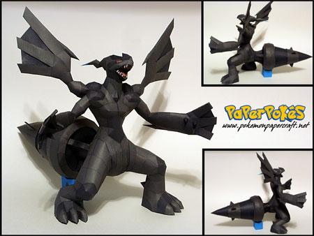 pokemon+zekrom+papercraft