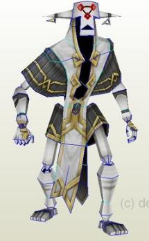 skyrim guardian papercraft